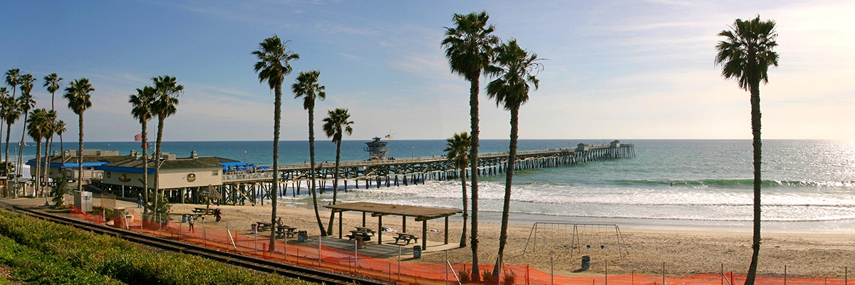 San Clemente Pier & Ocean