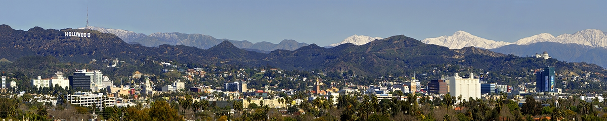 web Hollywood w-snow mountains