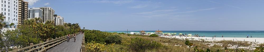 web Miami South Beach Wood boardwalk